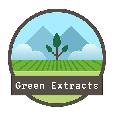 Green Extracts Logo: CBD Products